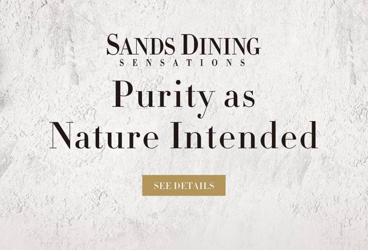 Sands Dining Sensations - Summer Organic Delights