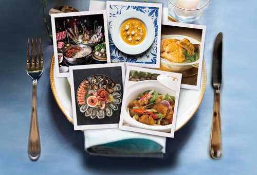 Spend $500 to Enjoy $100 Dining Rebate