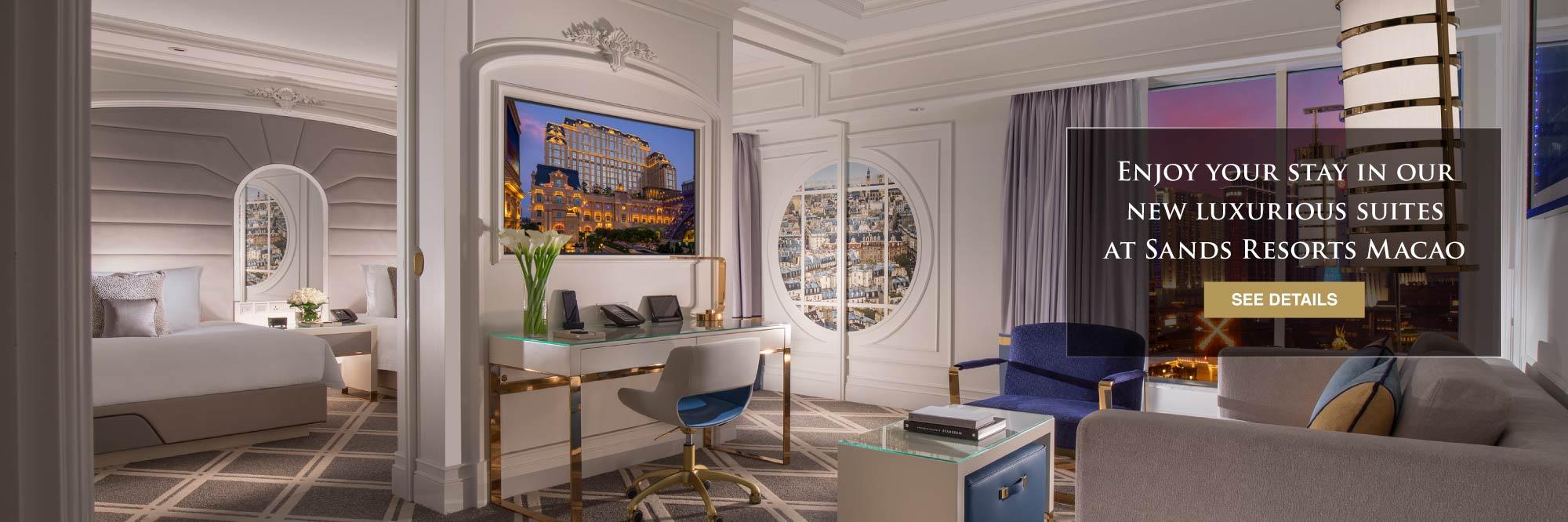 Sands Resorts Macao Extraordinary New Suite Room