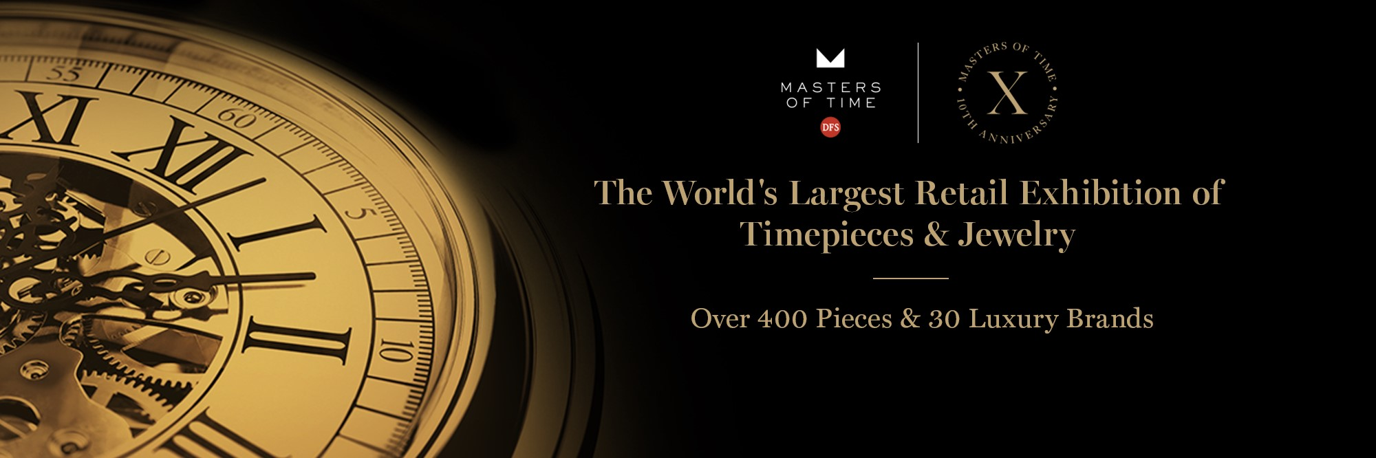 DFS MASTERS OF TIME 2018