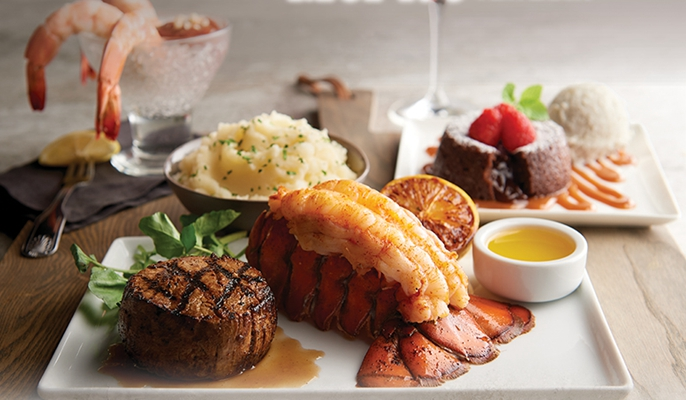 Join Us For Steak Seafood