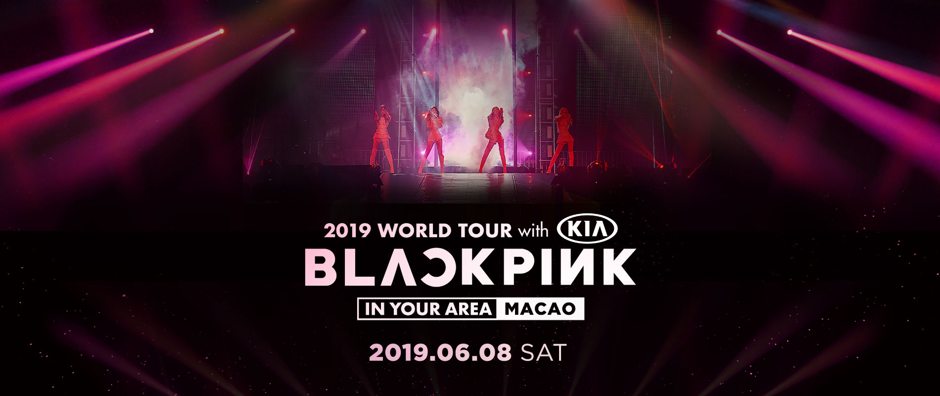 Blackpink 2019 World Tour With Kia In Your Area Macao