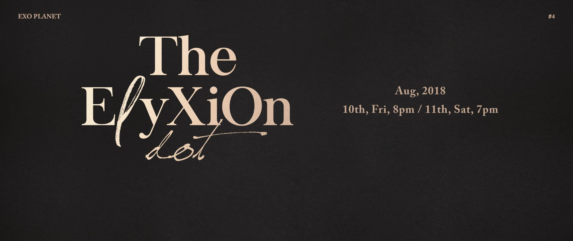 Exo Planet 4 The Eℓyxion Dot In Macao