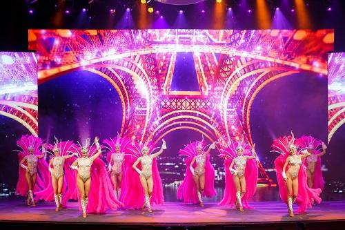 「梦幻巴黎」歌舞表演 - 澳门巴黎人