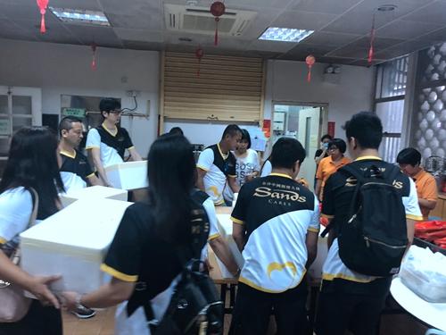 颱风「山竹」袭澳前后援助社区- 金沙中国关怀大使
