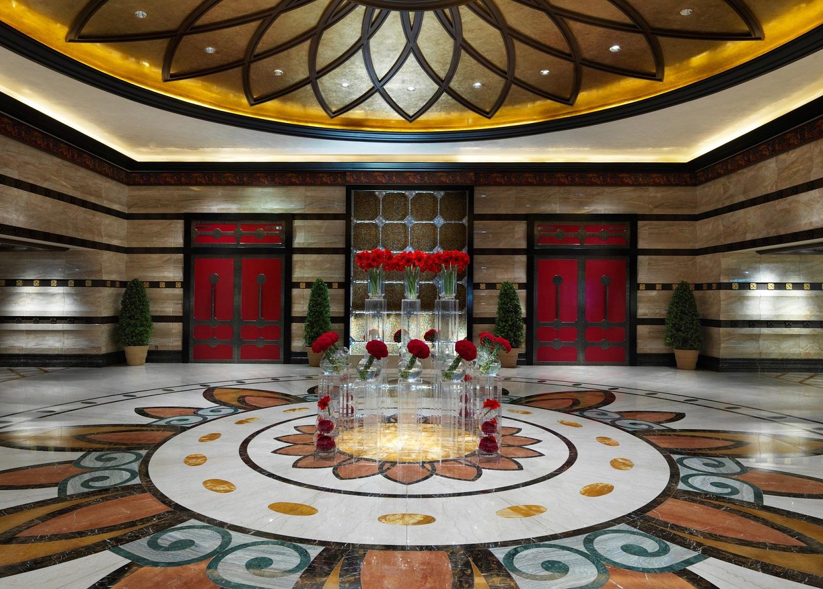 Conrad Macao stylish Lobby