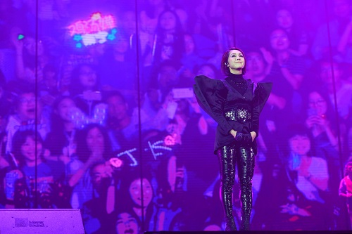 《My Beautiful Live Miriam Yeung World Tour Macao》concert at The Venetian Macao's Cotai Arena