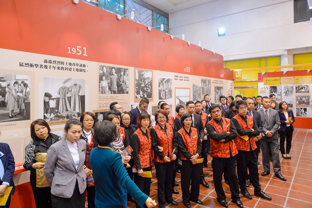 he Broad Waves of a Great River: Exhibition on 70 Years of Folk History in China