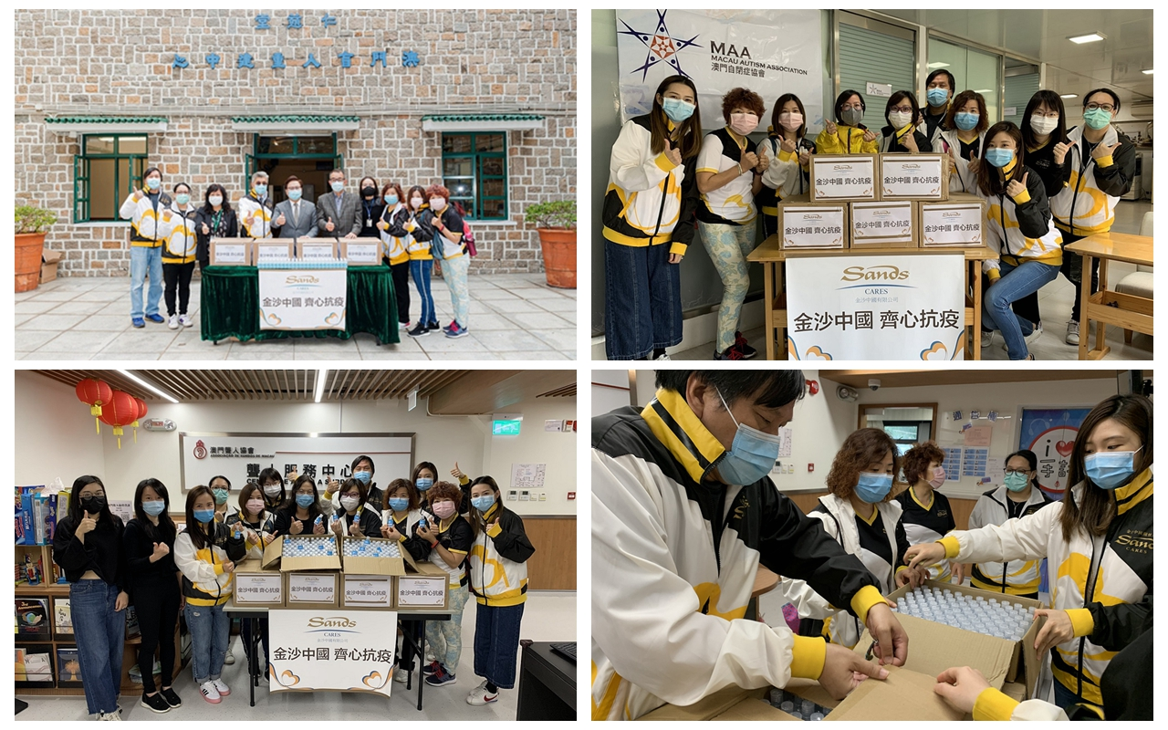 Sands China Donates MOP 1 Million in Scholarships and Fellowships