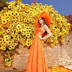 Summer look inspired by bohemian vibrancy