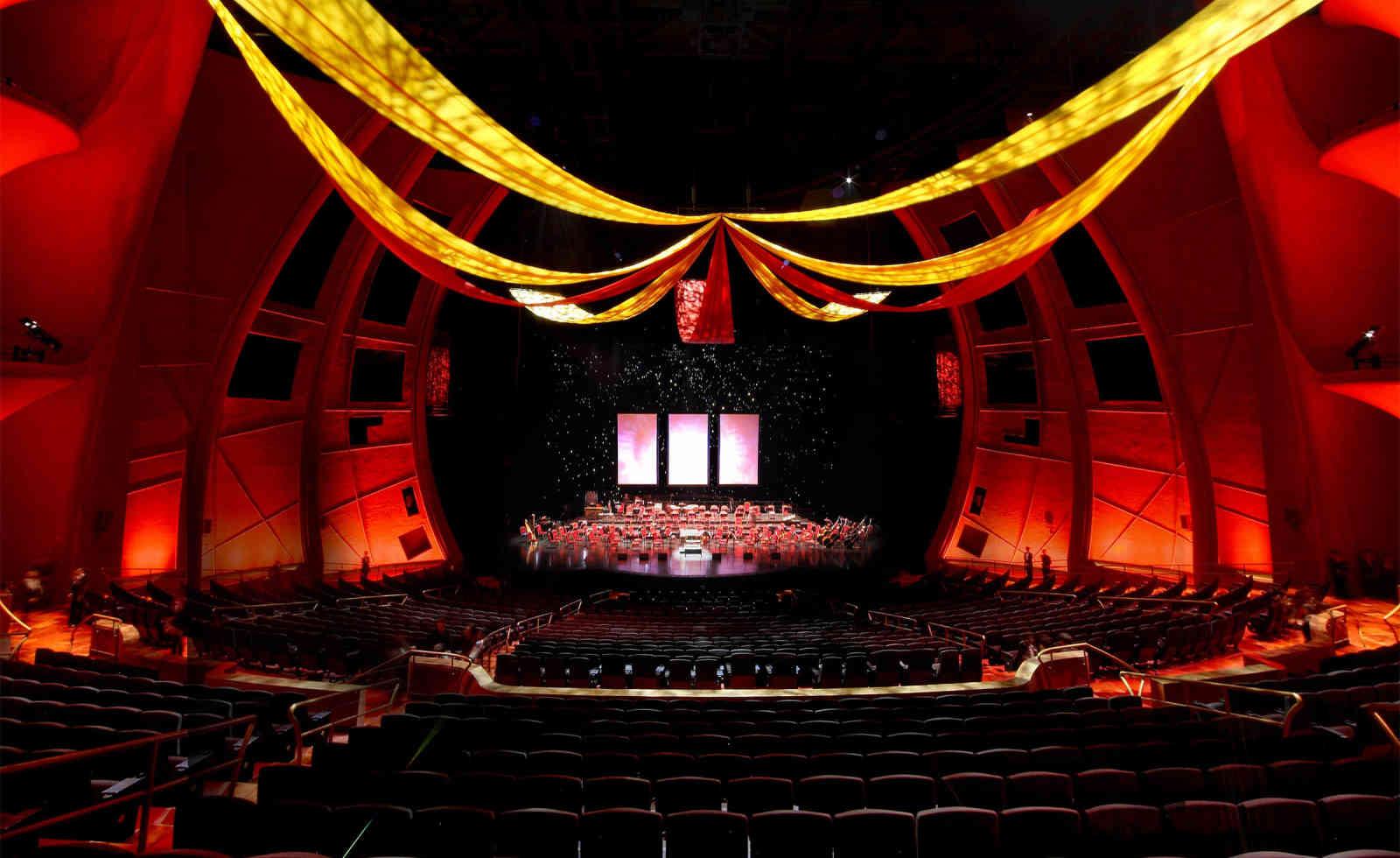 1,800-seat The Venetian Theatre