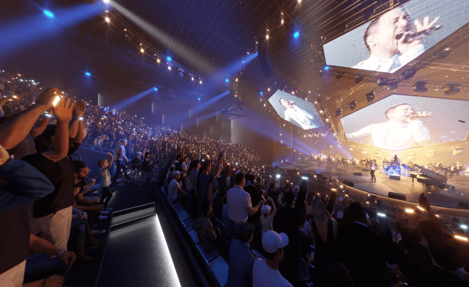 6,000-seat Londoner Arena