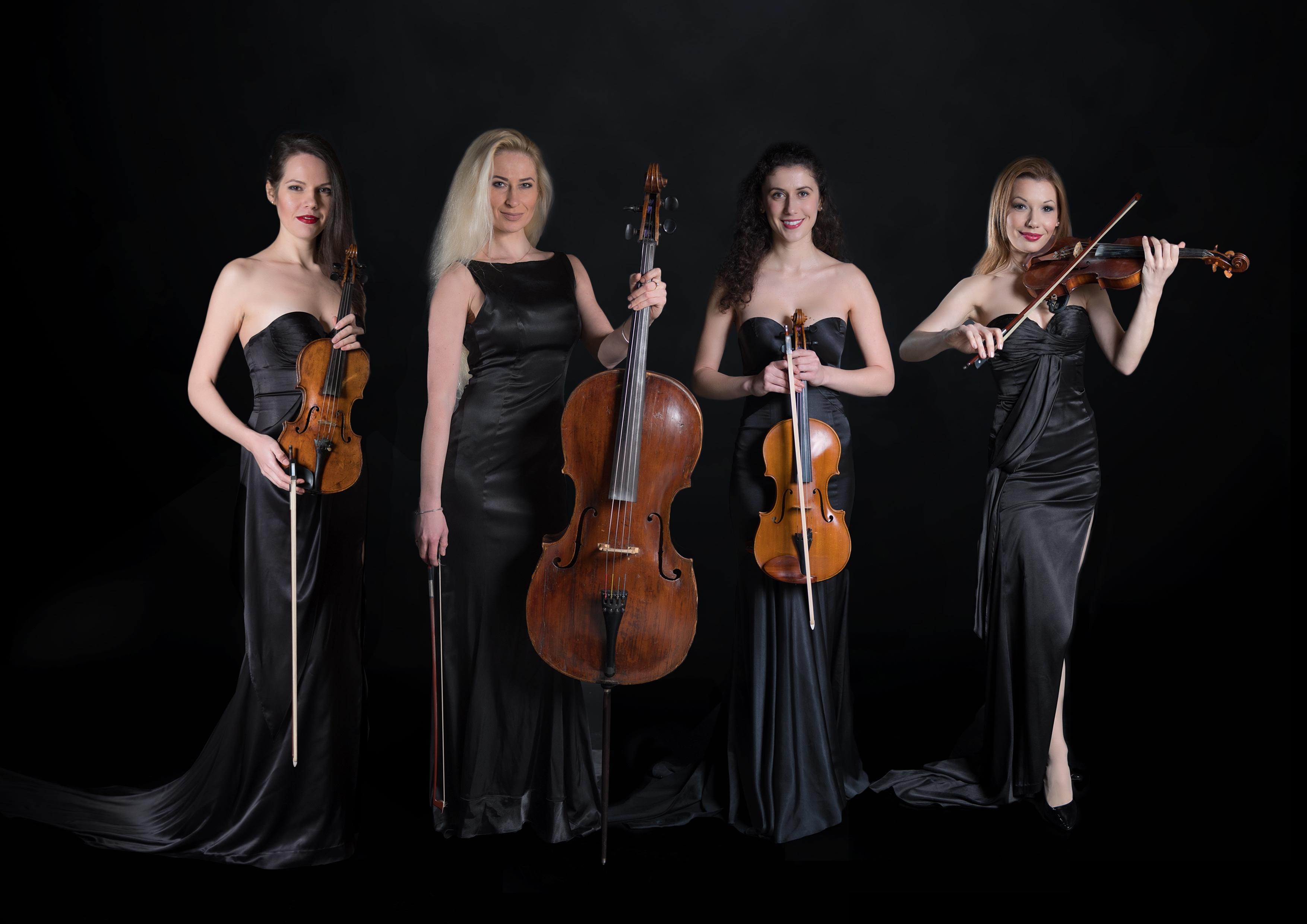 Meeting Offers Entertainment String Quartet