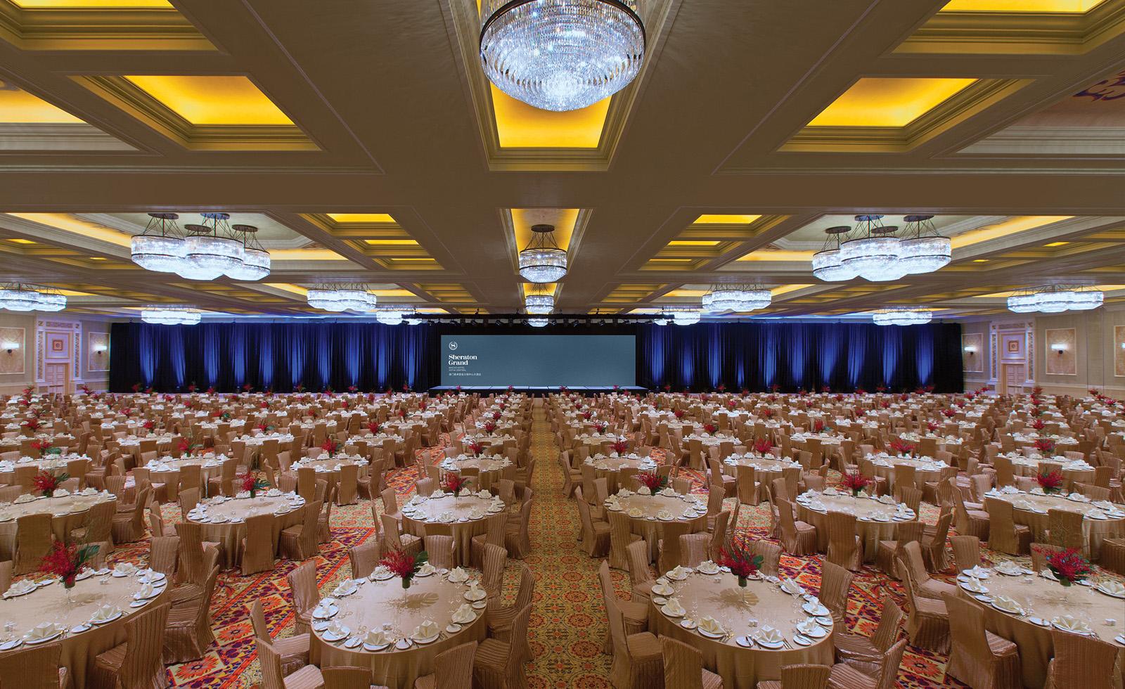 Kashgar Ballroom, banquet setup