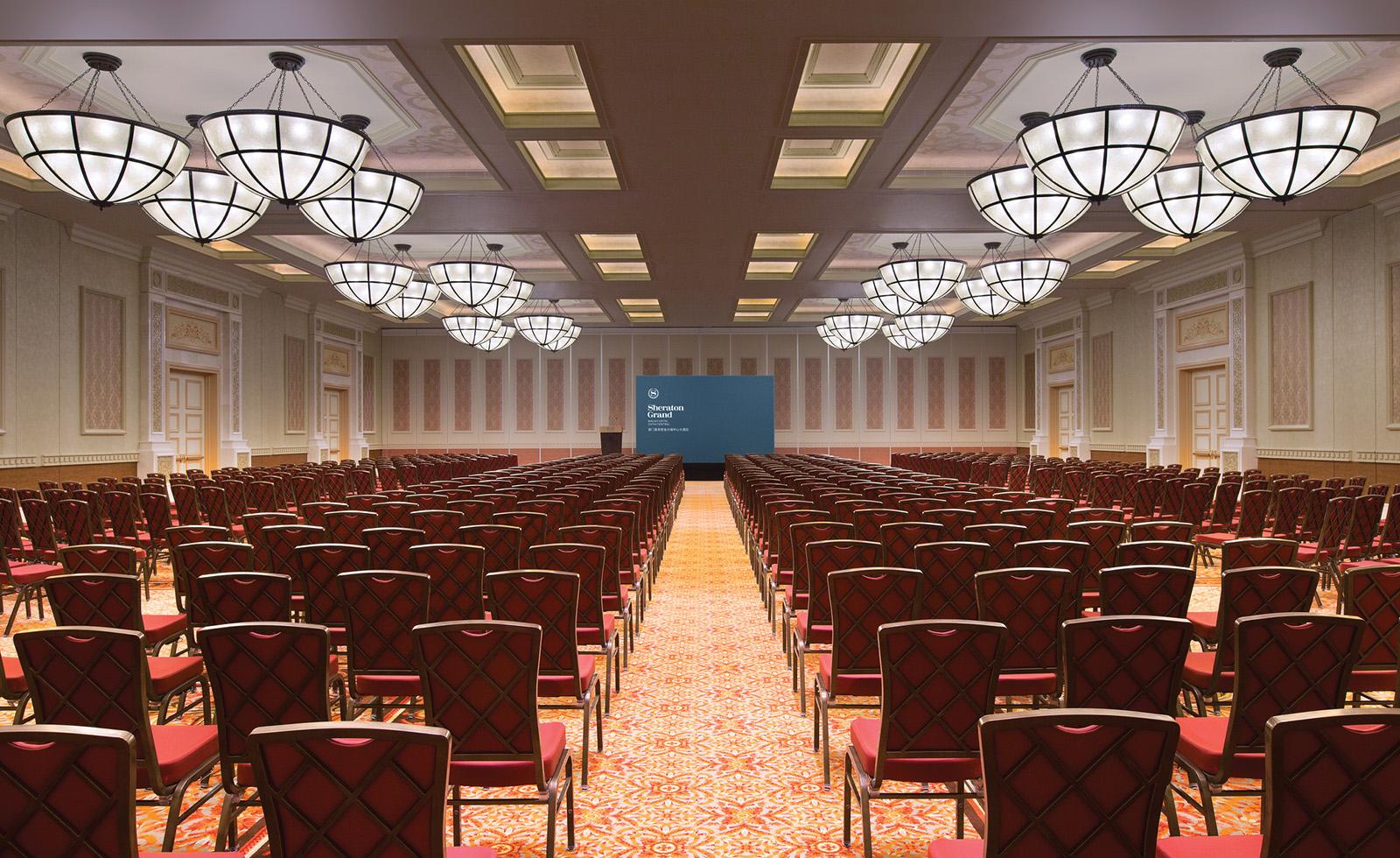 Kashgar Ballroom, theatre setup