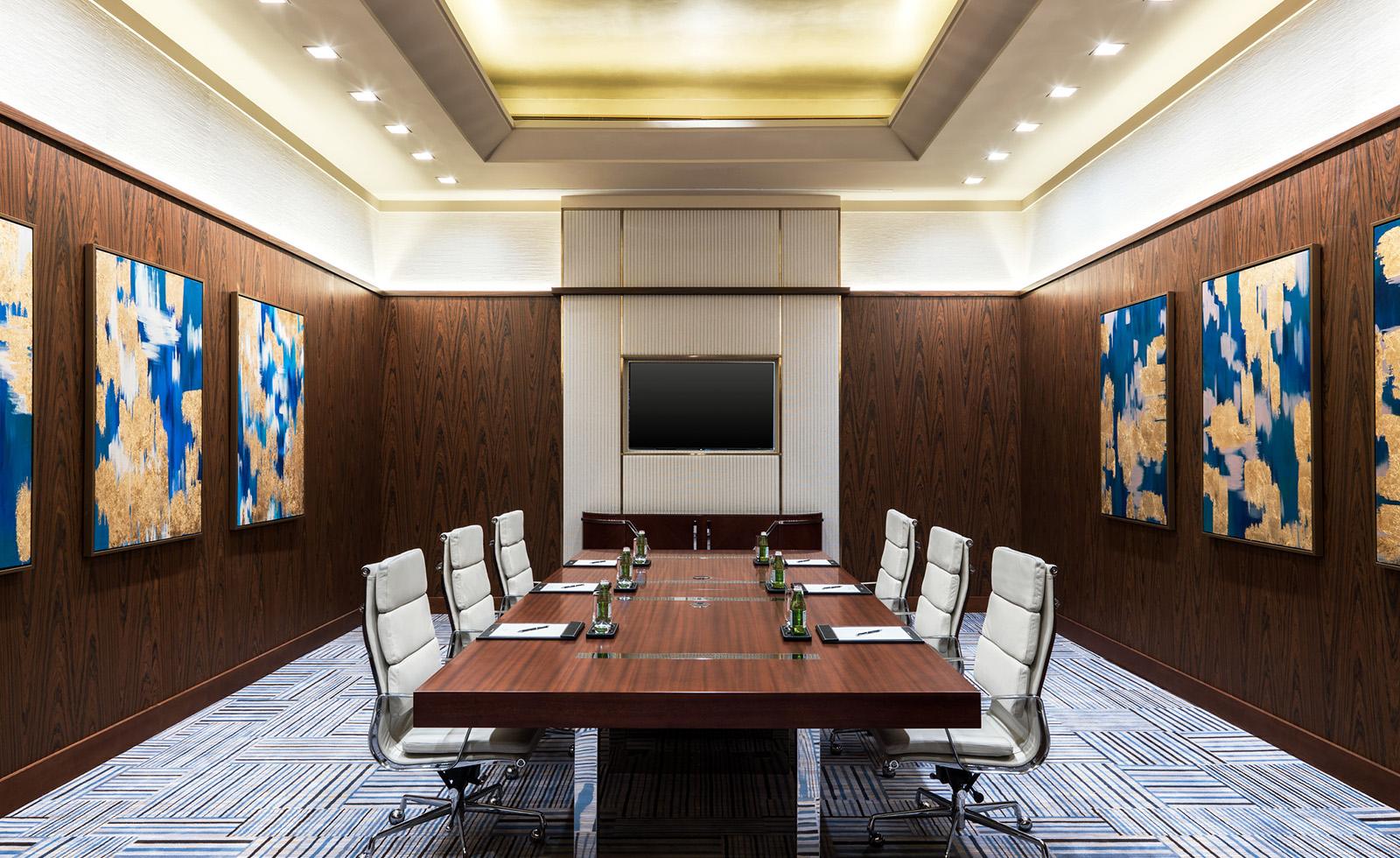 Sandalwood boardroom